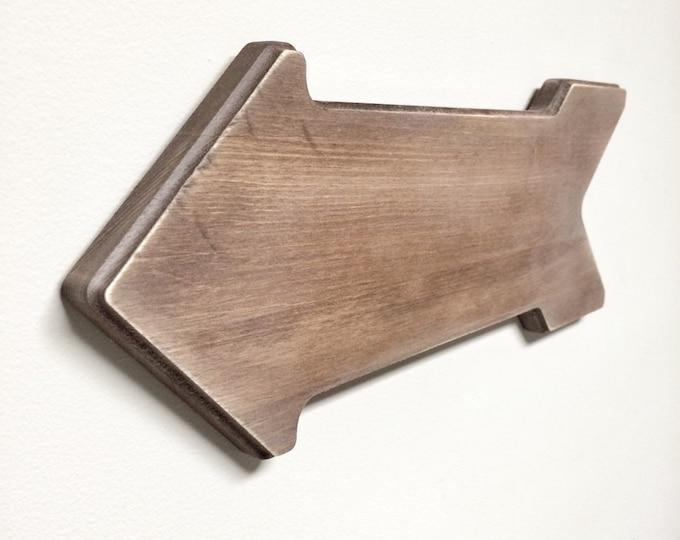 Rustic Wooden Arrow - Rustic Decor, Farmhouse Decor, Arrow Decor, Rustic Nursery Decor, Gallery Wall Decor, Wooden Arrow