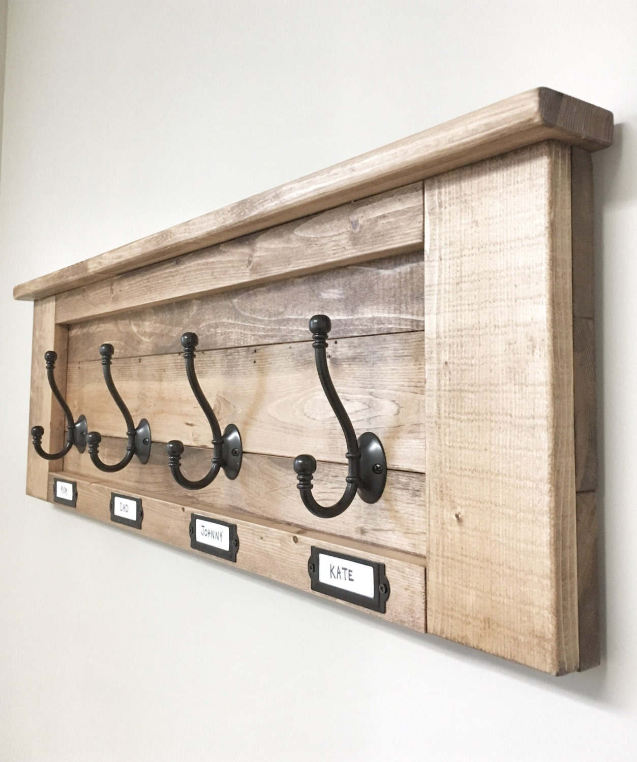 Wall Mounted Coat Rack With Shelf And Hooks Wooden Coat Rack Shelf