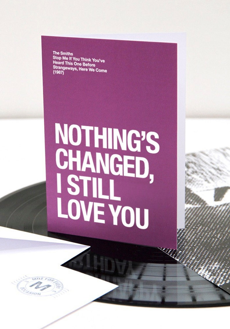 The Smiths  Morrissey themed  'Nothing's image 0