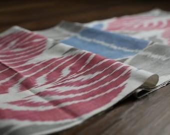 Handloomed Ikat Fabric  UZ 29