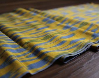 Handloomed Ikat Fabric  UZ 28