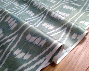 Handloomed Ikat Fabric  UZ 31