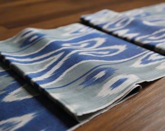 Handloomed Ikat Fabric  UZ 27
