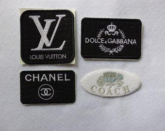 c91a15e5611c7 Iron On Patches - Fashion Logos - Coach
