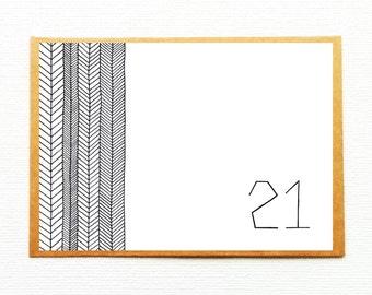 Spiksplinternieuw Kaart 50 jaar kaart 50ste verjaardag uitnodiging feest 50   Etsy BF-99