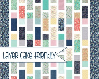 Layer Cake Quilt Pattern