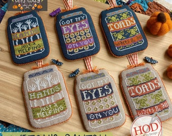 Witch's Pantry by Hands on Design - PAPER Pattern