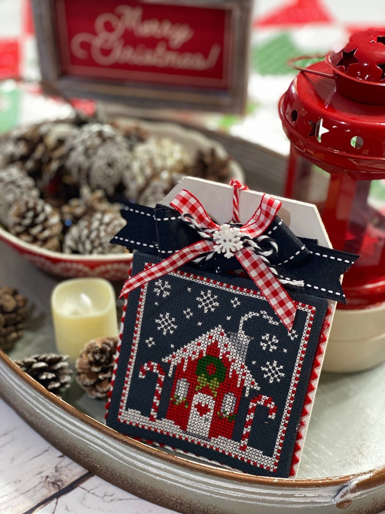 Candy Cane Cottage by Lindsey Weight of Primrose Cottage image 0