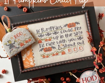 If Pumpkins Could Fly by Hands on Design - PAPER Pattern