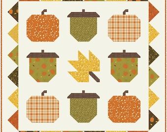 Hello Autumn PDF Quilt Pattern - Digital Pattern