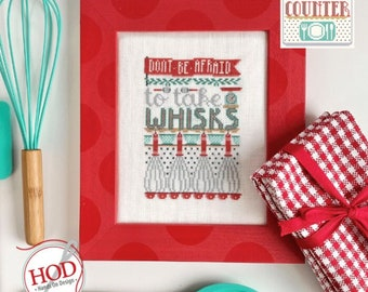 Take Whisks by Hands on Design - PAPER Pattern