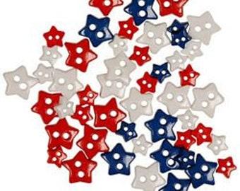 Mini Patriotic Stars by Flair Originals