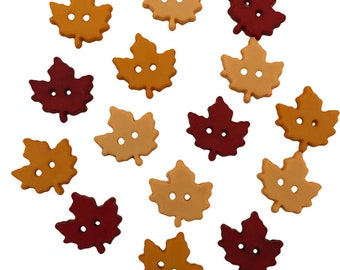 Fall Collection : Hello Autumn - Buttons by Buttons Galore & More