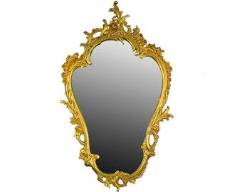 Vintage Wand Spiegel Antik Wand Spiegel Gold Spiegel Große Wand Spiegel  Dekorative Spiegel Bad Spiegel Verzierten