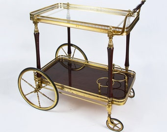Vintage Bar Cart >> Bar Carts Bars Etsy Il