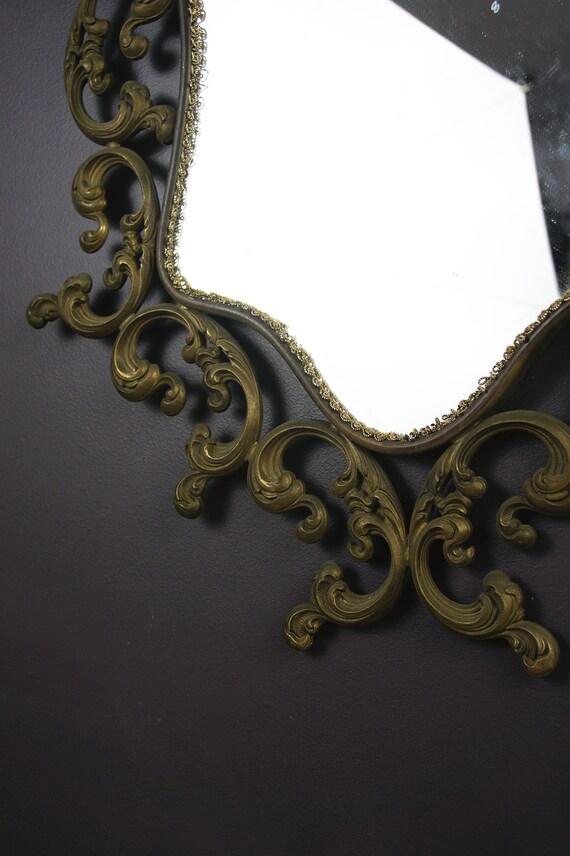 Metall Wand Spiegel Antik Spiegel Vintage Wand Spiegel große | Etsy