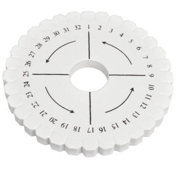 10.5 cm round kumihimo braiding disk   Etsy