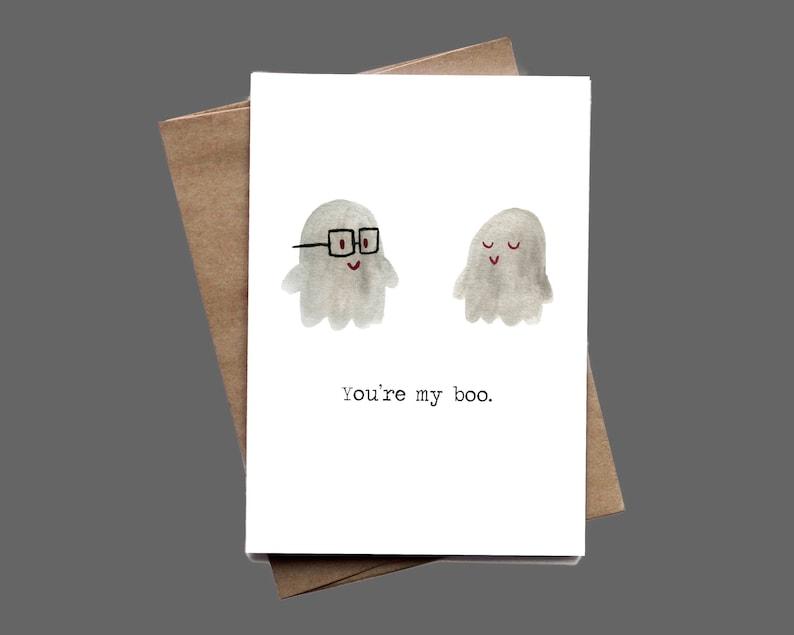 Eres mi tarjeta de felicitación Boo