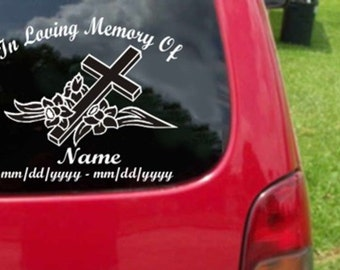 Memory Car Stickers Etsy