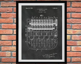 1923 Adding Machine Patent Print - 1900 Adding Machine Poster - Accountant Gift - Bookkeeper Gift - CPA Gift - Accounting Decor