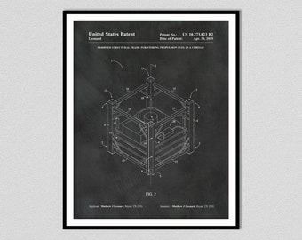 2019 Modified Structural Frame for Storing Propulsion Fuel in a Cubesat Patent Print- Matthew J. Leonard, Inventor