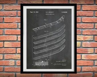 1964 Jumping Water Skis Patent Print - Water Ski Blueprint - Water Skier Gift - Water Sports Art - Beach House Decor - Water Ski Drawing