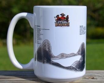 Steel Vengeance Roller Coaster MUG - Roller Coaster Geek Mug Gift Idea - Steel Vengeance Roller Coaster Pencil Holder Mug,
