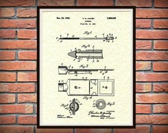 1932 Catheter Patent Print - Catheter Poster - Catheter Blueprint, Urology Office Art Print - medical decor - Urology Office Decor -