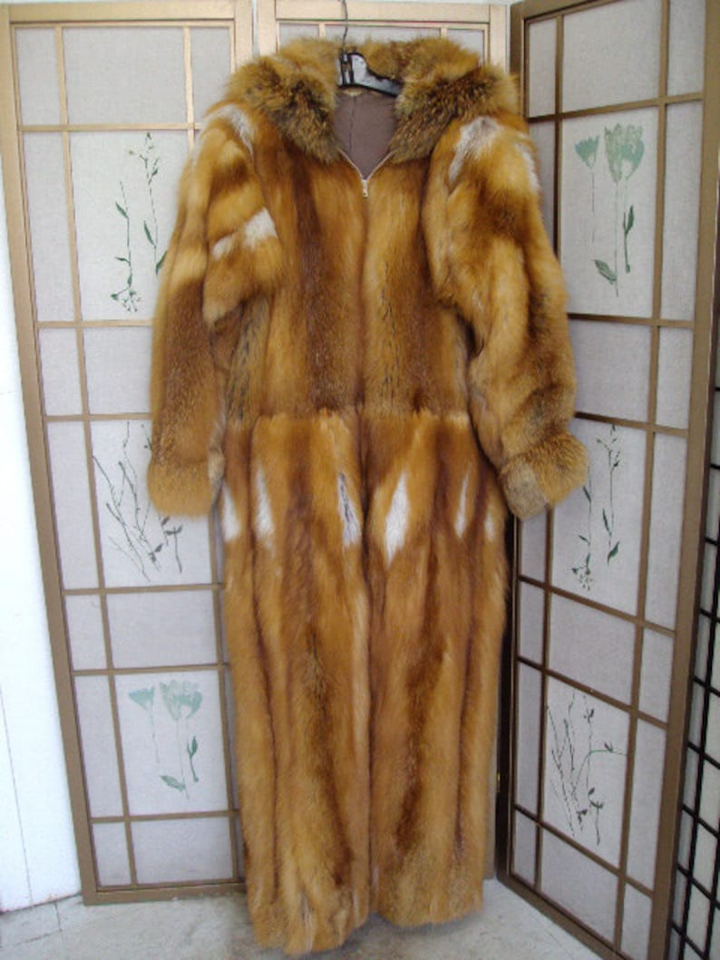 Brand new red fox fur snowsuit jumpsuit bodysuit coat for men man size all  custo... Brand new red fox fur snowsuit jumpsuit bodysuit coat for men man  size ... 3b1c69691