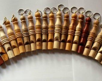 Bespoke hand made Dog whistles
