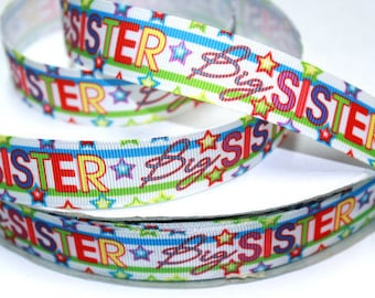 """Miss Pre K Grad 1/""""  grosgrain ribbon the listing is for 3 yards and 2 flat resin"""