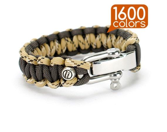 Femmes Bracelet Bracelet Paracord Type III-Cobra-Hommes U