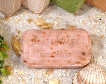 French olive oil soap, fragrance note ROSE