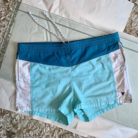 Vintage Men's Jantzen 1970s Short Swim Shorts 36