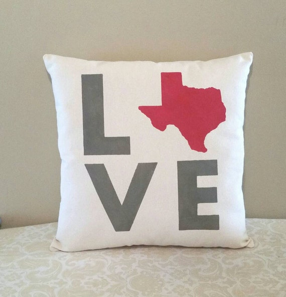 State Love Pillow Moving Out Of State Gifts Housewarming Etsy
