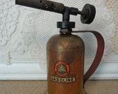 Vintage Lenk Mfg Co Gasoline Blow Torch, Vintage Gas Blow Torch, by The Lenk Mfg Company, Newton, Mass.