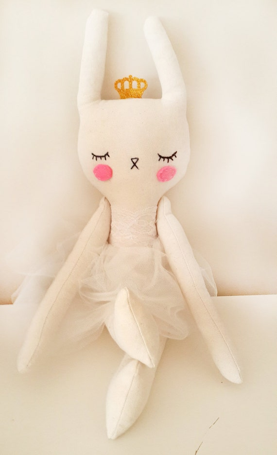 Puppe Hase Hase Prinzessin Rabbit Puppe Baby Shower Etsy
