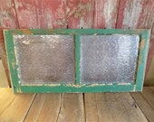 Wood Transom Window, Glass Pane Window,Vintage Architectural Salvage Frame a50 , Vintage Transom,Home Decor, Architectural Salvage Window