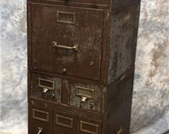 Globe Wernicke Stackable Metal File Cabinet Legal Cabinet, Industrial  Filing Cabinet, Metal Cabinet, Documents Cabinet, Courthouse Cabinet