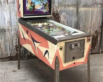 708170dd40b321 1968 Williams Daffie Pinball Machine, Coin Operated Arcade Game, Game Room  Decor, Vintage Pinball Machine, Classic Pinball