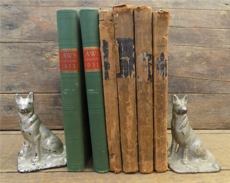 1879-1933 Laws of Missouri Jefferson City Railroad Swine Wolves Pharmacy,  books, vintage, history