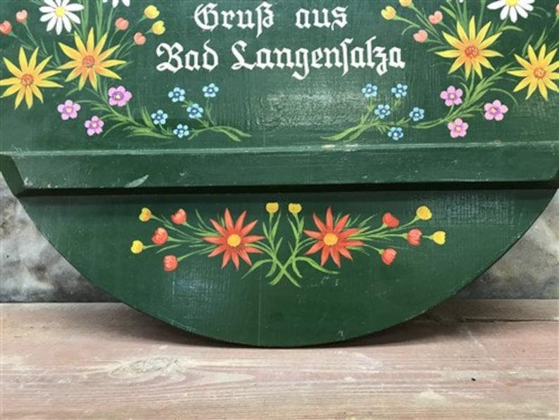 Folk Art Hand Painted Wooden Board Vintage Round Cutting Board Rustic Cutting Boards Cheese Board b European Bread Board Kitchen Decor