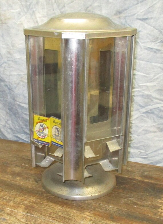 Wrigley Bubble Gum Match Display Case Stand Drug Store Sales Etsy Amazing Wrigley's Chewing Gum Display Stand