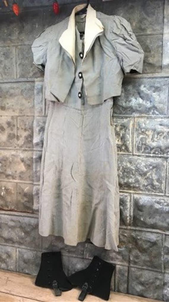 Spats, Gaiters, Puttees – Vintage Shoes Covers Sharkskin Registered Eastman Womens Dress, Jacket, Spats, Vintage Acetate Rayon, Dress Clothes, Clothing $59.00 AT vintagedancer.com