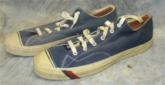 Pro Keds Mens Size 17 M Canvas Sneakers Dark Blue