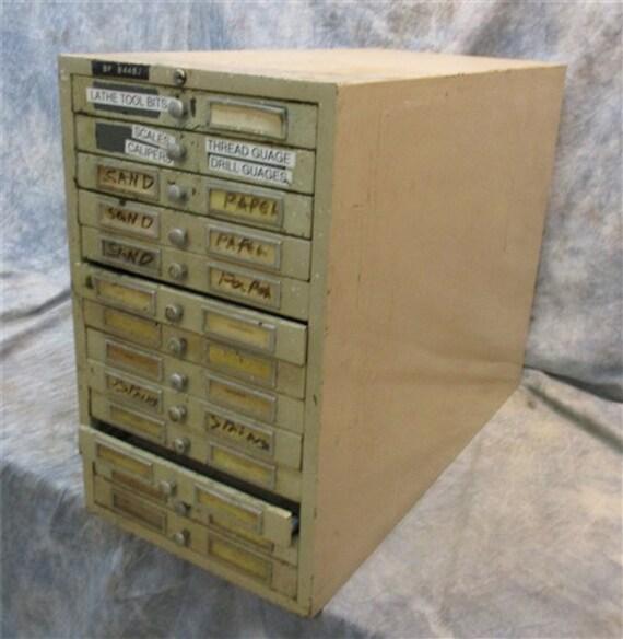 13 Drawer Metal Filing Cabinet Flat File Cabinet Organizer Etsy