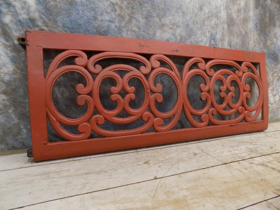 42 X 15 Cast Iron Ornamental Grate Decorative Panel
