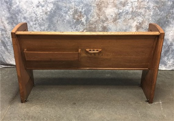 Pleasant 5 Vintage Church Pew Bench Entryway Bench Farmhouse Furniture Wooden Bench G Farmhouse Oak Church Pew Wedding Decor Rustic Bench Caraccident5 Cool Chair Designs And Ideas Caraccident5Info