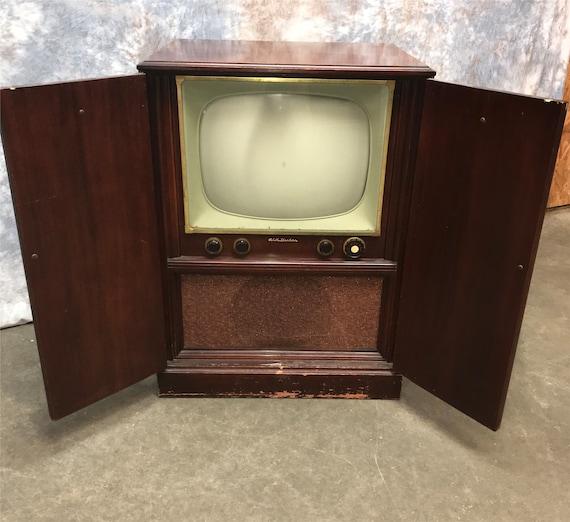 1951 RCA Victor TV Television Model 7T123 Mid Century Retro | Etsy