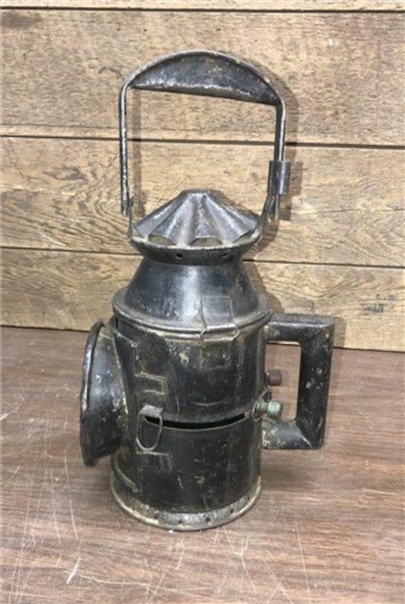 Railroad Signal Lantern, Train Railroad Lamp, Green Red Lens, Railway  Lantern, Rustic Home Decor, Farmhouse Decor, Industrial Decor